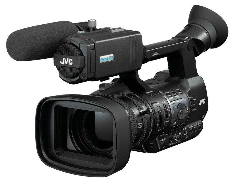 Turno de JVC. Nueva cámara GY-HM600