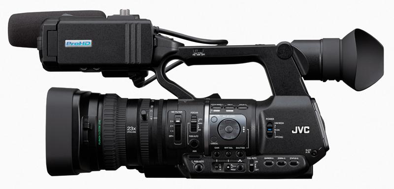 Actualización de firmware para la cámara JVC GY-HM600