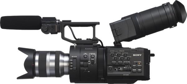 Sony presenta la NEX-FS700EK