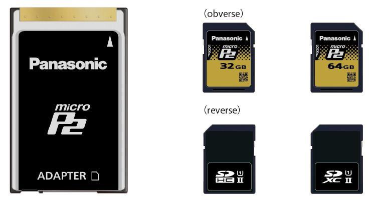 Ya disponibles las actualizaciones de AG-HPX250EJ, AJ-HPX255EJ y AJ-HPX600EJ para poder usar tarjetas micro P2
