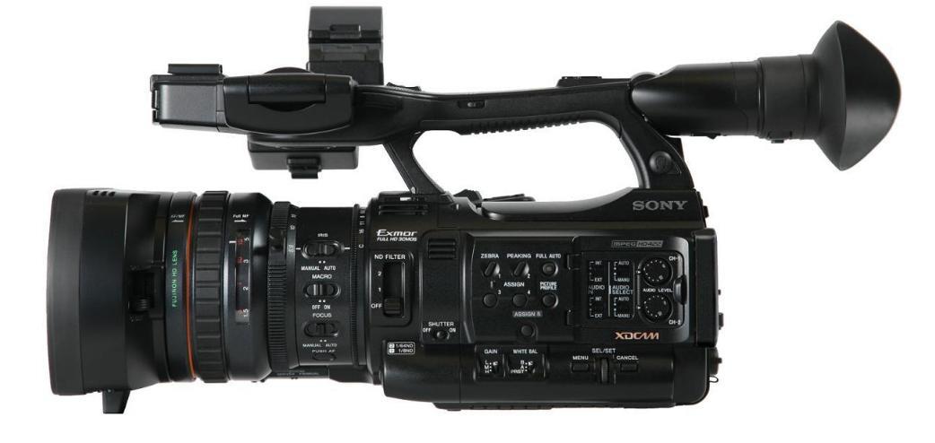 Actualización de firmware para Sony PMW-200 y PMW-300