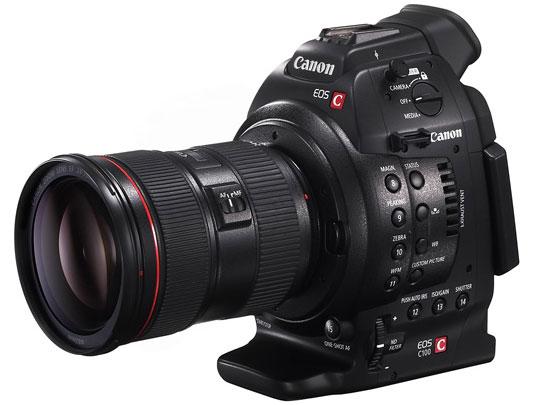 Nueva invitada a la fiesta, Canon Eos Cinema C100