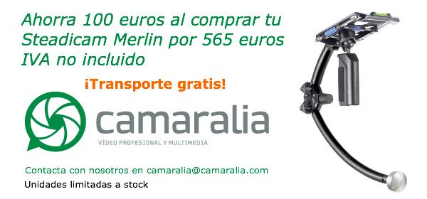 ¿Queréis comprar una Stadicam Merlin y ahorrar 100 euros?
