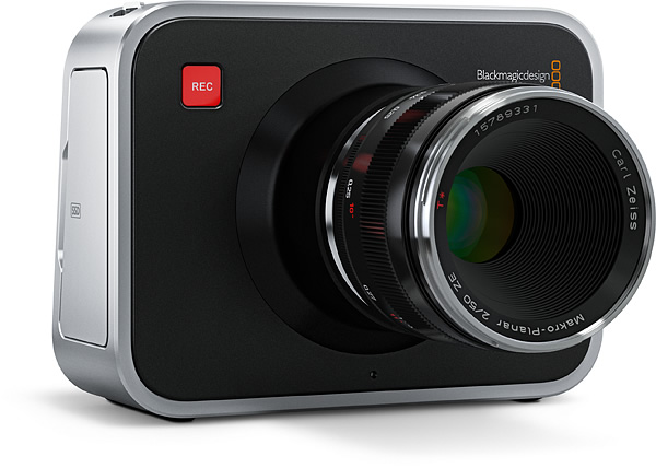 Actualización de firmware para la Blackmagic Cinema Camera