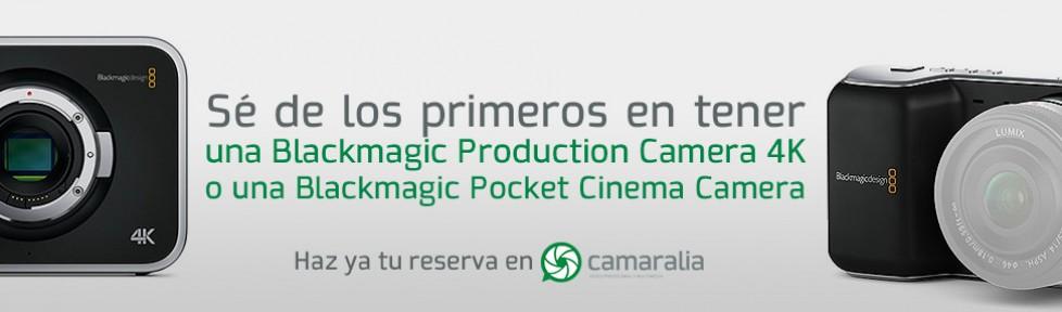 Blackmagic actualiza la fecha prevista de envío de la Pocket y Production Camera 4k
