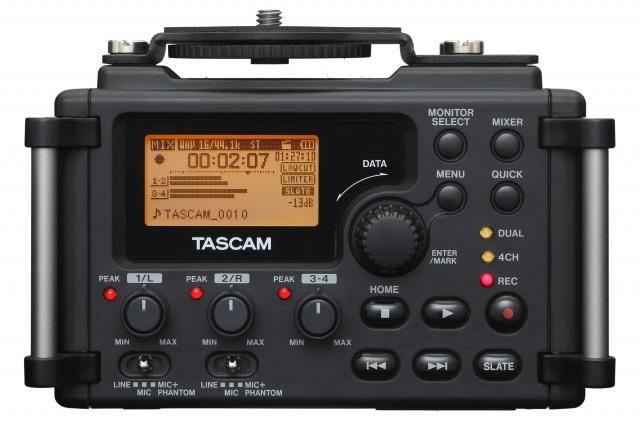 Tascam DR-60D el grabador de audio total para cámaras DSLR