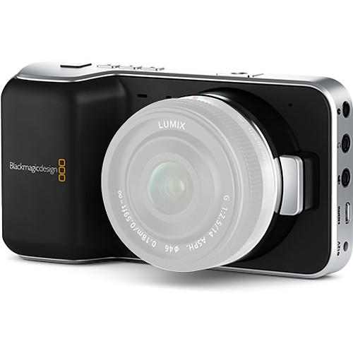 Reserva ya tu Blackmagic Pocket Cinema Camera o Blackmagic Production Camera 4K de la forma más sencilla