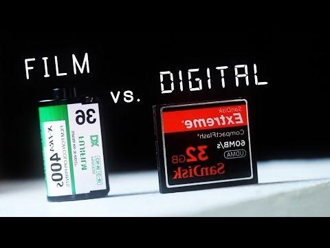 ¿Qué es mejor película o digital?