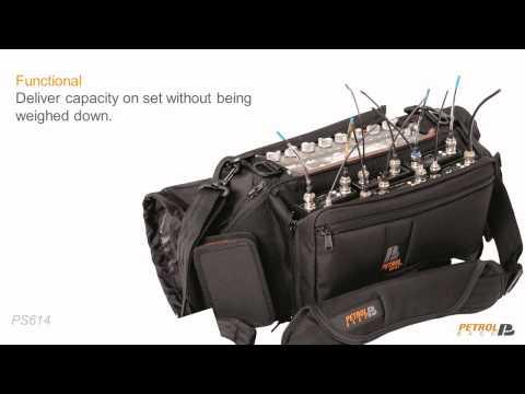 Descubre las bolsas para técnicos de sonido de Petrol
