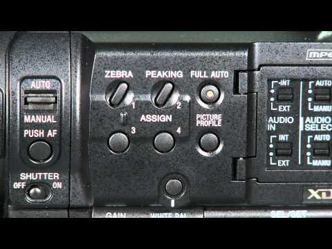 Review en vídeo de la cámara Sony PMW-100