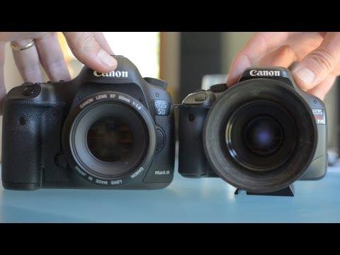 Comparativa entre Eos 5D Mark III y Eos 550D