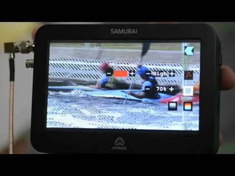 Atomos Ninja y Samurai como monitor externo. Nuevas funciones