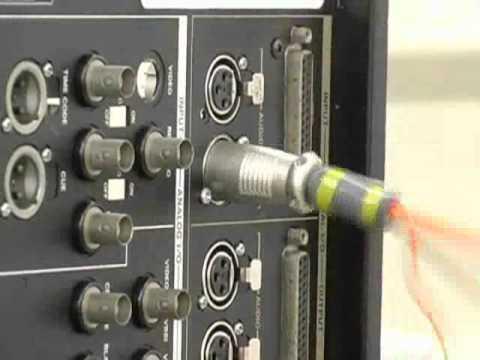 Probando la fiabilidad de los conectores XLR