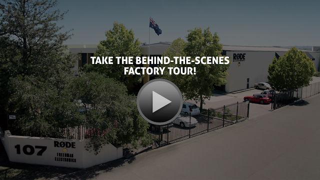 ¿Queréis dar una vuelta por la fábrica de Rode en Australia?