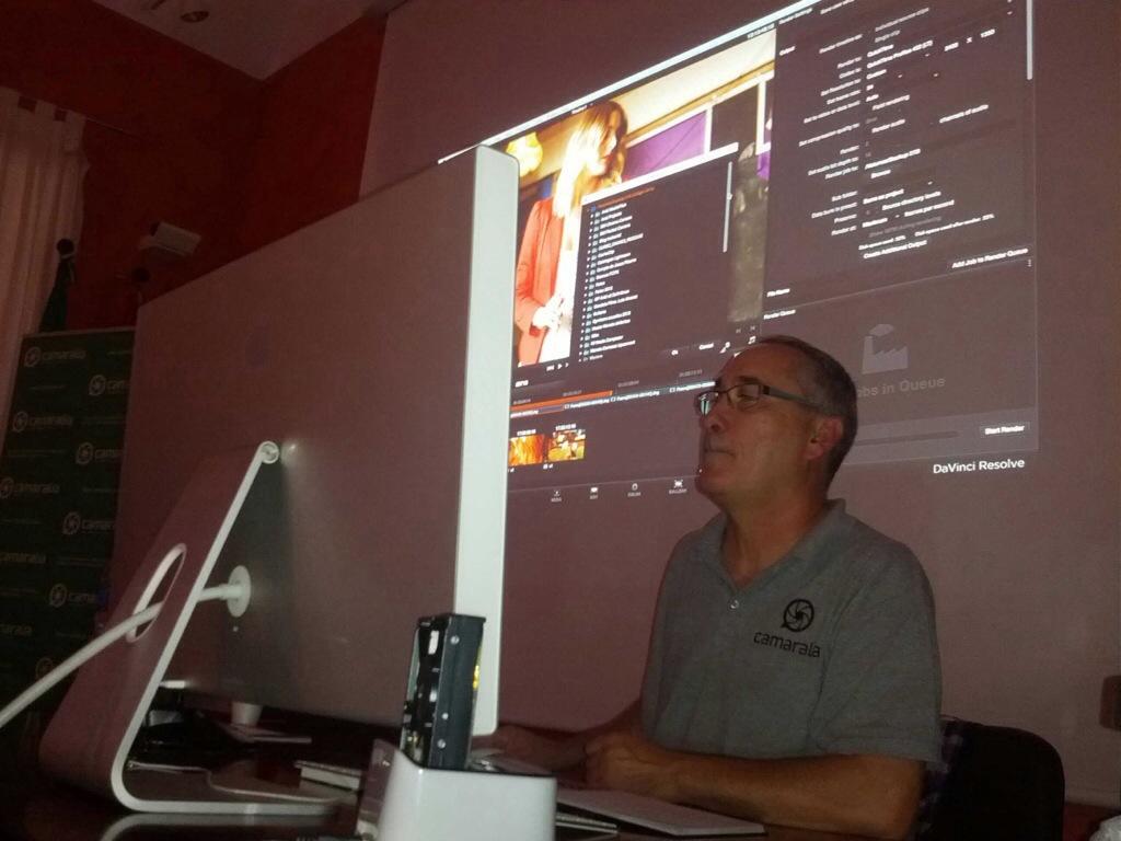 Estuvimos en FICCAD 2013 con talleres de DaVinci Resolve y Rycote