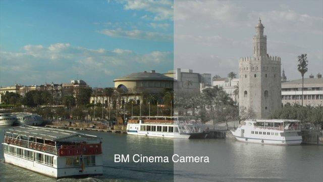 Comparativa entre Blackmagic Cinema Camera EF 2,5k y Pocket Cinema Camera