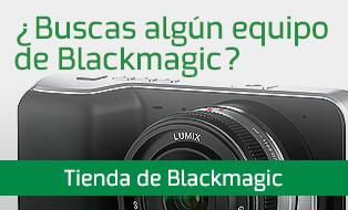 Visita nuestra tienda de Blackmagic
