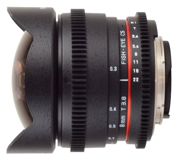 ¿Por qué número T y no número f en las lentes VDSLR Samyang?