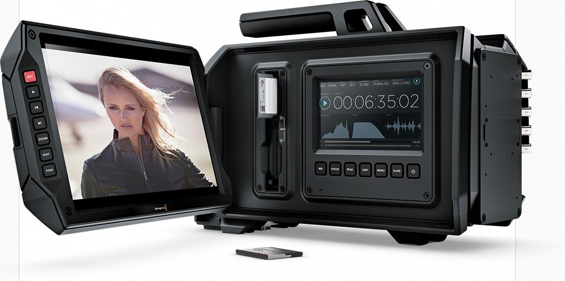 Ya disponible la actualización de firmware 1.8 para cámaras Blackmagic