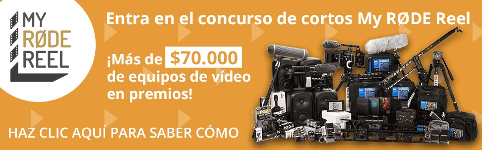 """Participa en el concurso de cortos """"My Rode Reel"""", 50.000 euros en premios te esperan"""