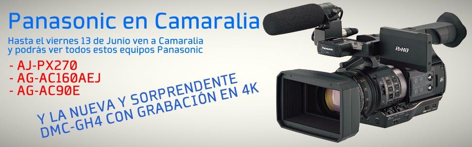 Hasta el viernes 13 de Junio ven a conocer las cámaras Panasonic a Camaralia