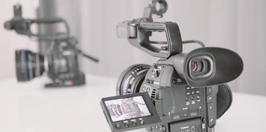 Canon Eos C100 y Eos C100 Mark II frente a frente