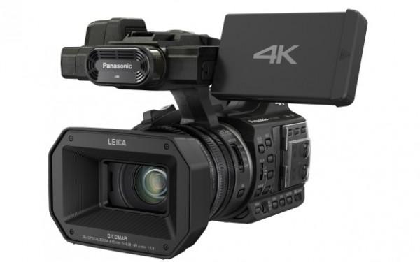 La Panasonic 4K HC-X1000 se actualiza con nuevos formatos de grabación