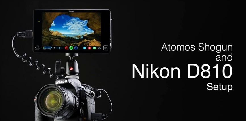 Aprende a configurar tu cámara Nikon con el Atomos Shogun