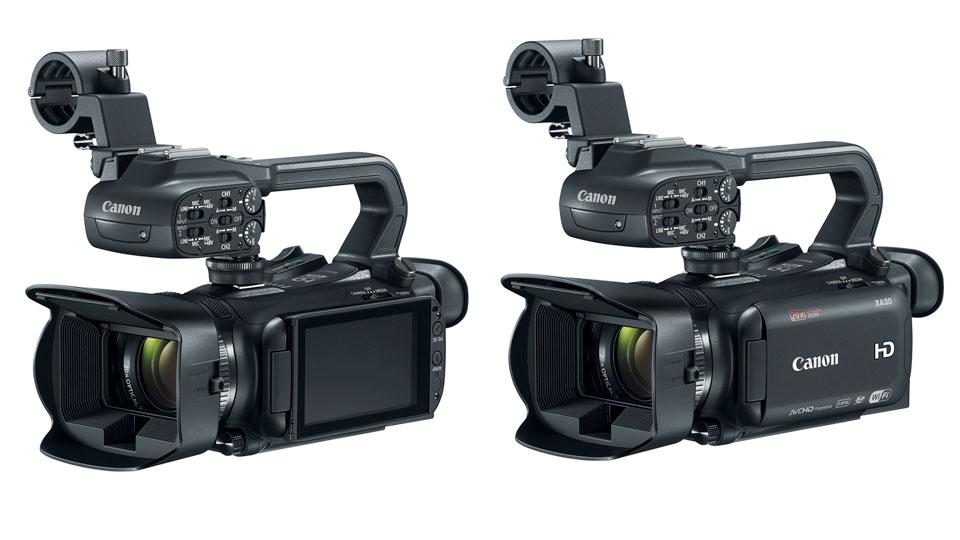 Descubre las XA30 y XA35, los nuevos modelos de Canon