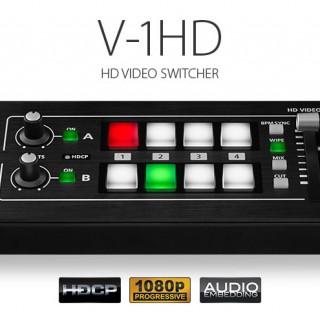Roland presenta el Vídeo Switcher V-1HD