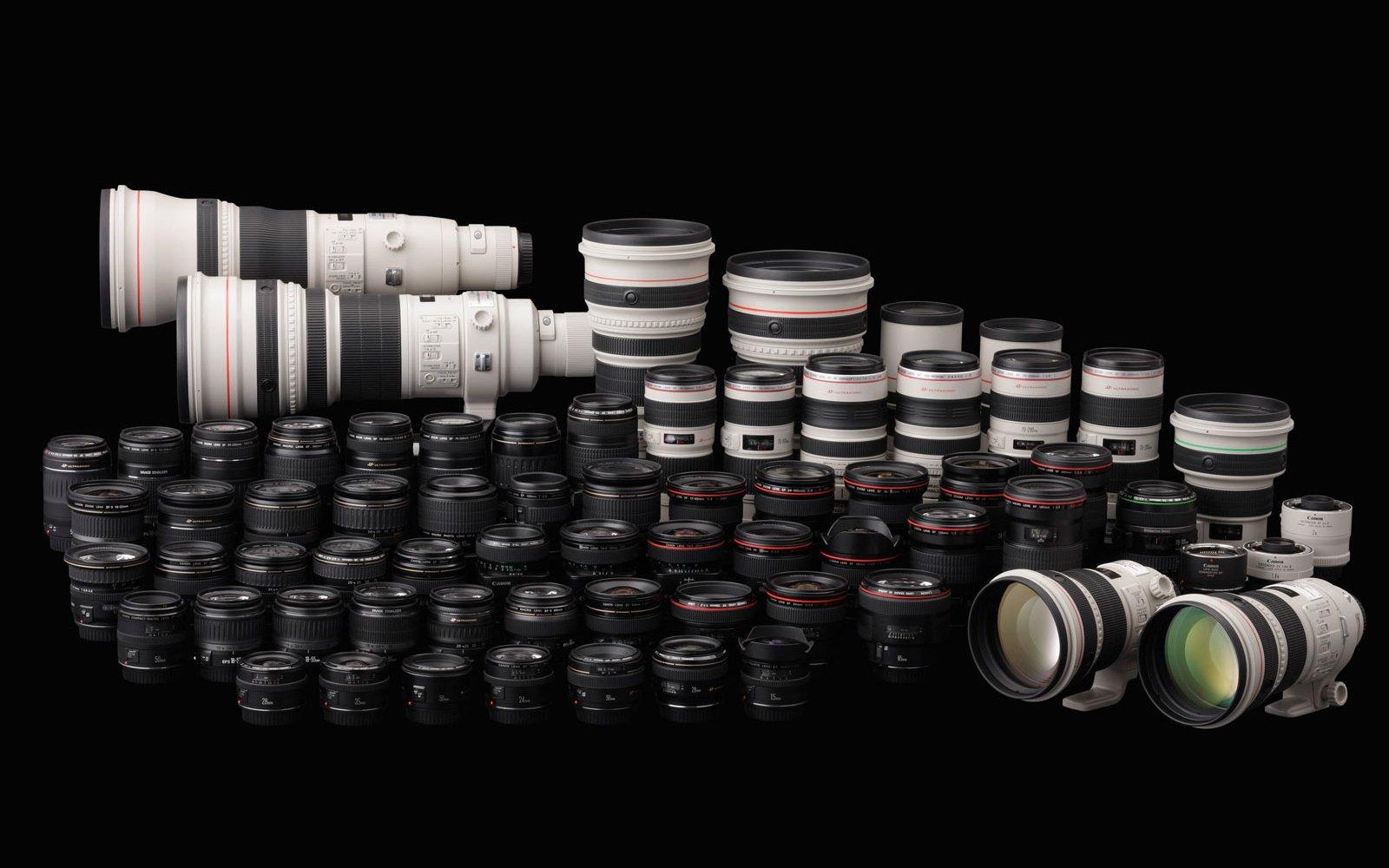 ¿Que objetivo puedo usar en mi cámara Canon?