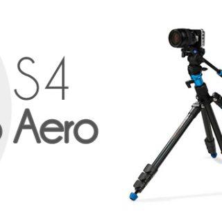 Conoce a fondo los trípodes Benro Aero S2 y S4