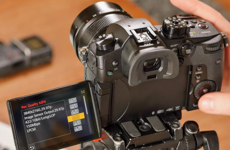 Aprende a configurar tu DC-GH5 para grabación de vídeo