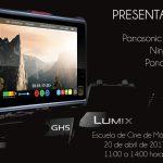 Camaralia con DC-GH5, Ninja Inferno y Panasonic 4k en la Escuela de Cine de Málaga – Jueves 20 de Abril