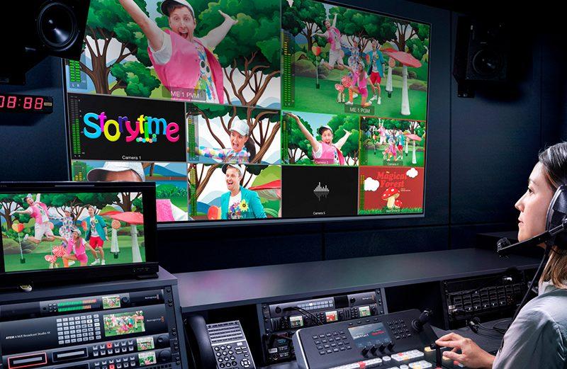 Actualiza tu ATEM 2 M/E Broadcast Studio 4K al nuevo ATEM 4 M/E Broadcast Studio 4K de forma gratuita