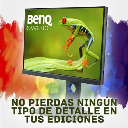 Benq y su amplia gama de monitores de corrección de color