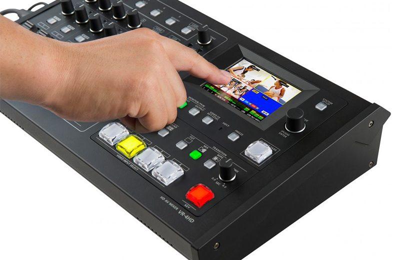 Roland y su amplia gama de mezcladores de edición