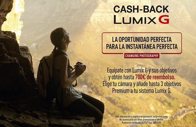 Equípate con LUMIX G y sus objetivos con hasta 700€ de reembolso